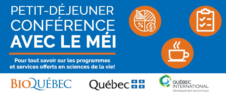 Déjeuner-Conférence avec le MÉI (QUÉBEC)