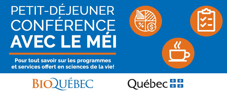 Déjeuner-Conférence avec le MÉI (MONTRÉAL)