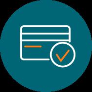 Icône - recevez vos paiements en ligne