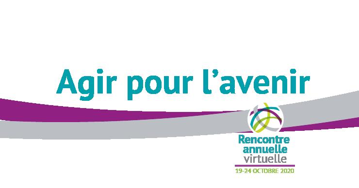 banniere logo de la rencontre annuelle virtuelle