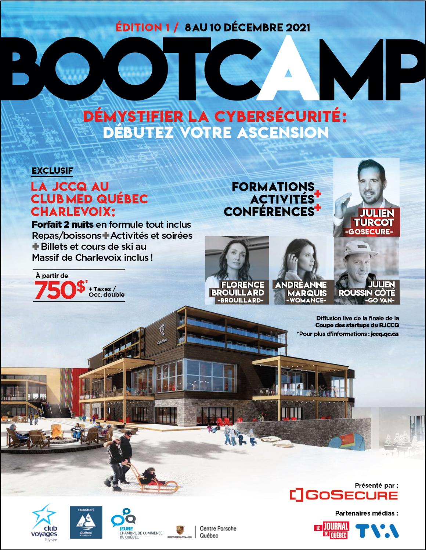 Bootcamp Club Med Québec Charlevoix X JCCQ