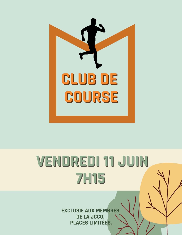 Club de course - 11 juin