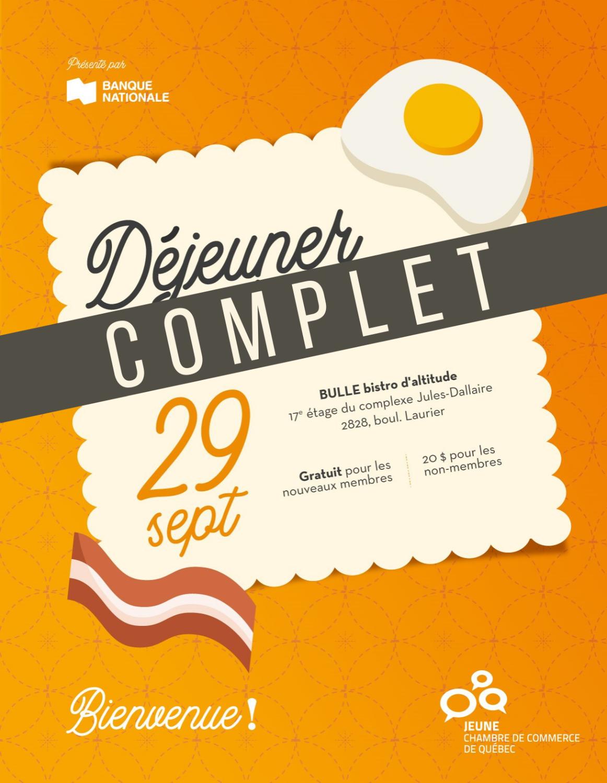 Déjeuner intégration - Septembre 2021