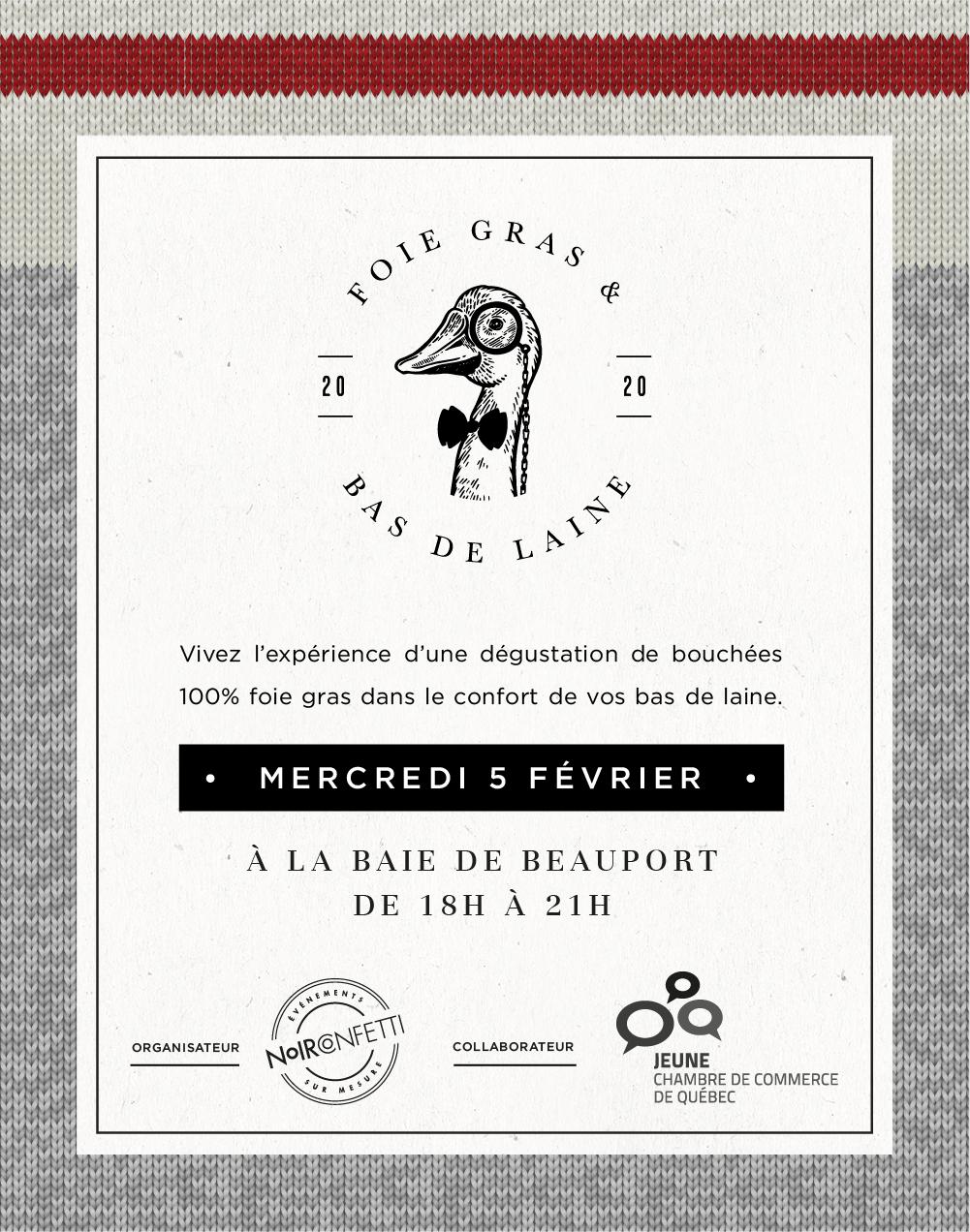 Foie gras et bas de laine