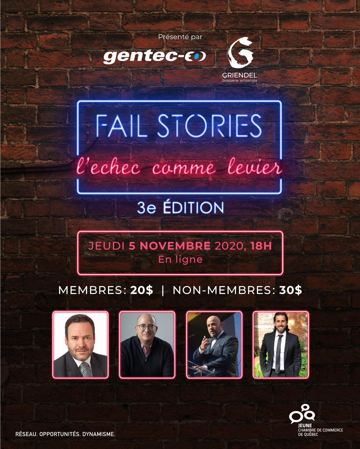 Fail Stories : L'échec comme levier - 3e édition