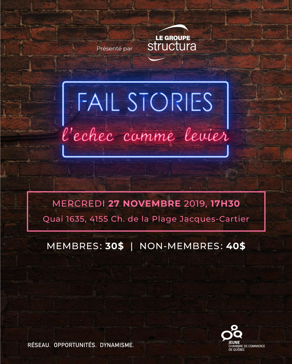 Fail stories : L'échec comme levier