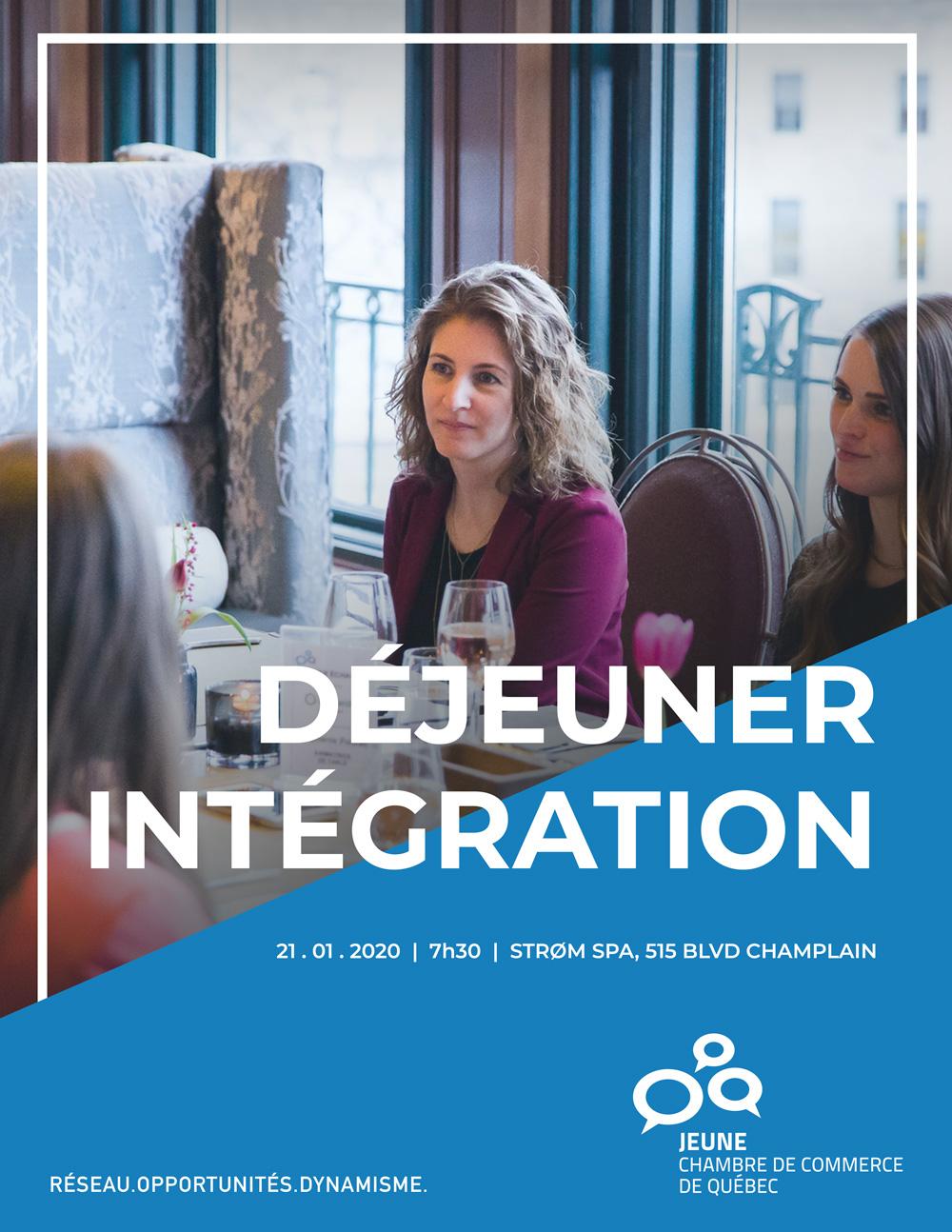 Déjeuner intégration - Janvier 2020