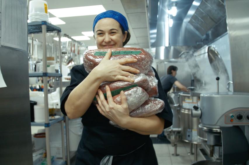 Marie Claude, Chef cuisinière