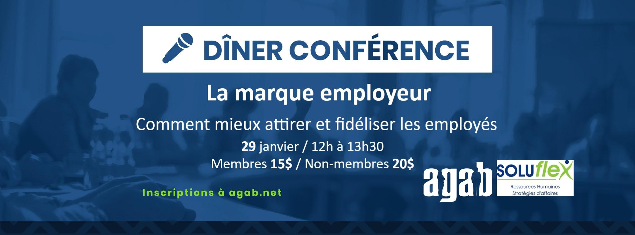 Dîner-conférence - La marque employeur