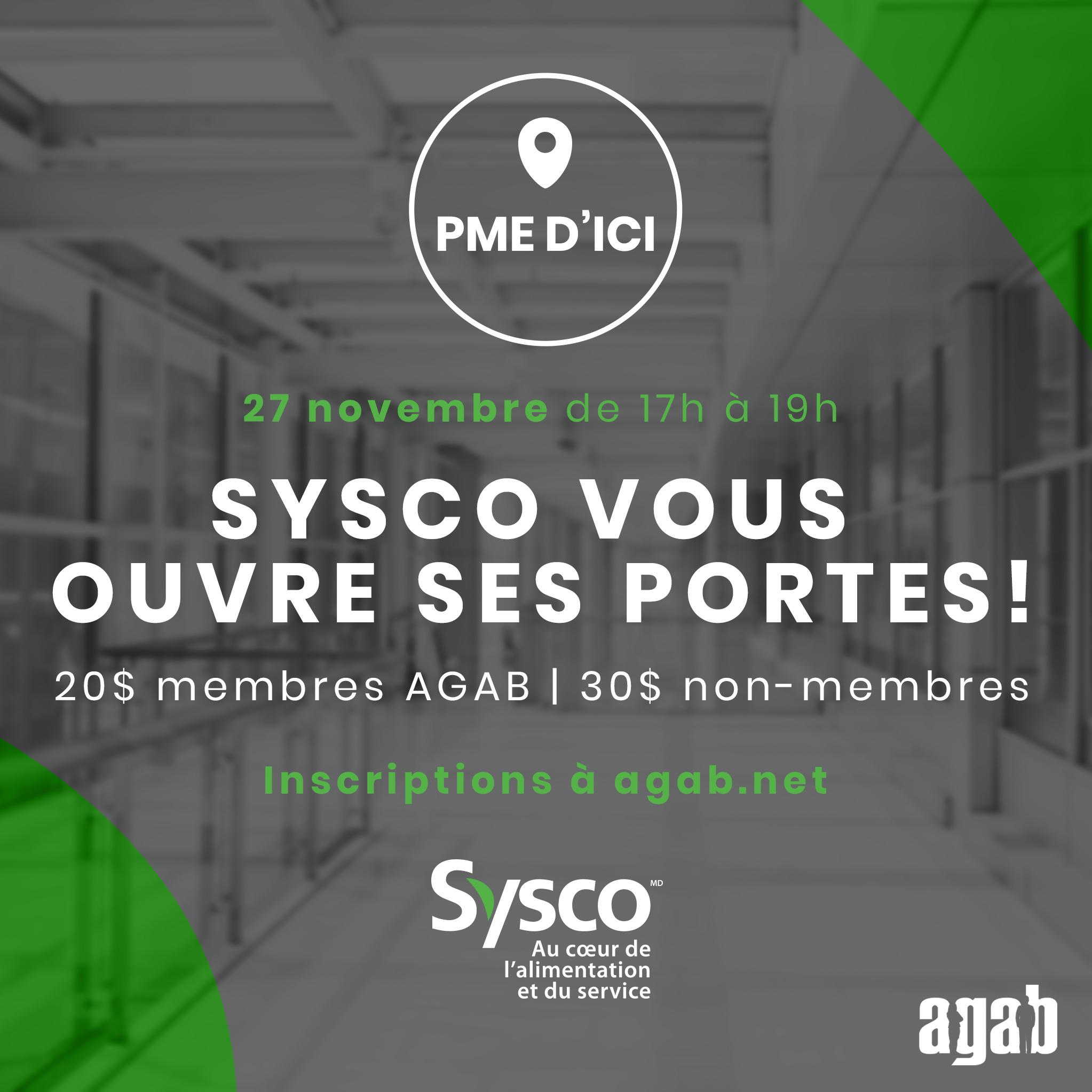 PME d'ici - Sysco