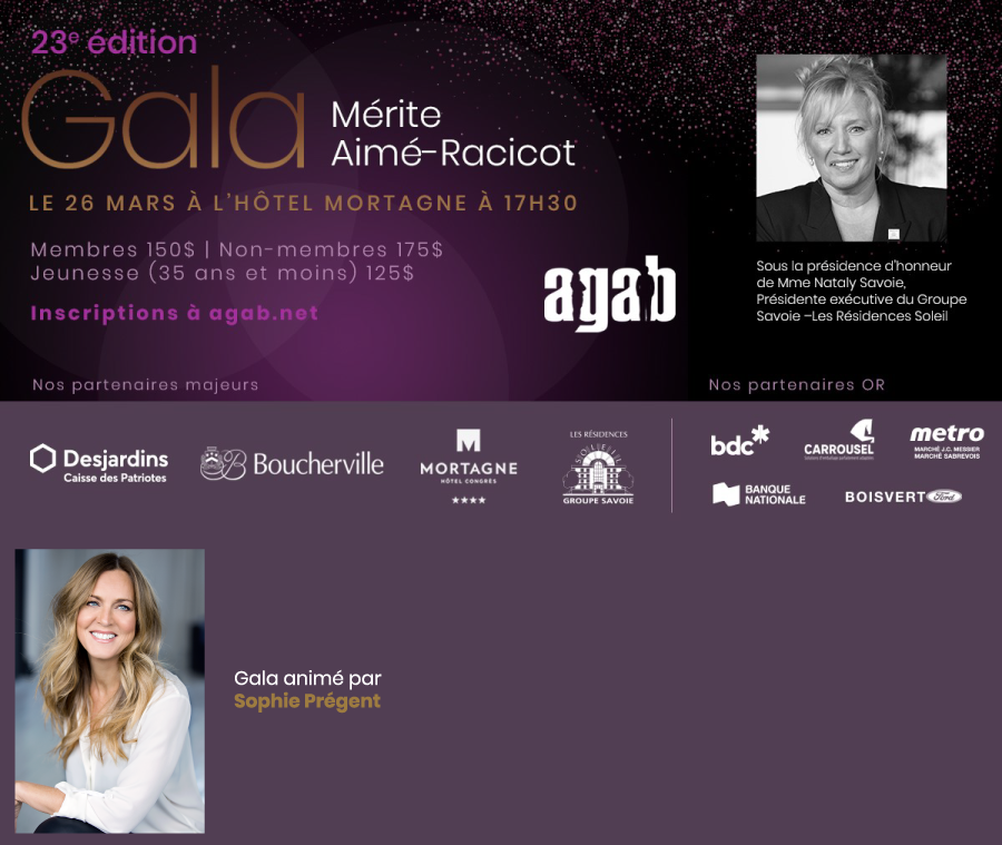 23e Gala Mérite Aimé-Racicot