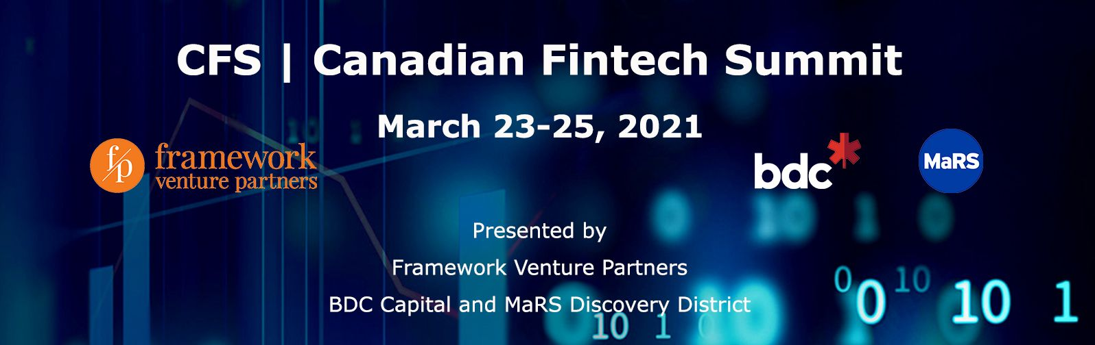 EXCLUSIVE TO TENANTS - Free tickets to the Virtual Canadian FinTech Summit 2021