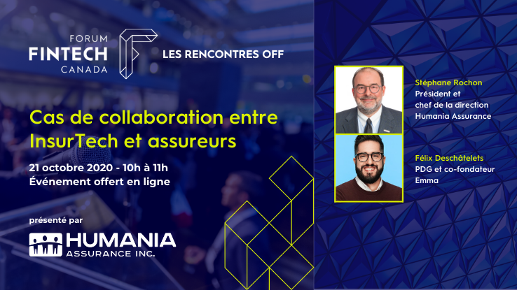 Rencontre OFF Forum FinTech - Cas de collaborations entre InsurTech et assureurs