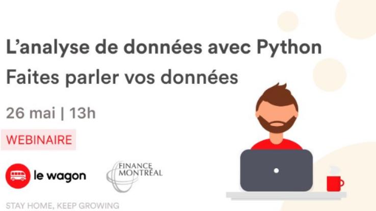 L'analyse des données avec Python - Faites parler vos données