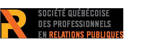 Logo Société québécoise des professionnels en relations publiques