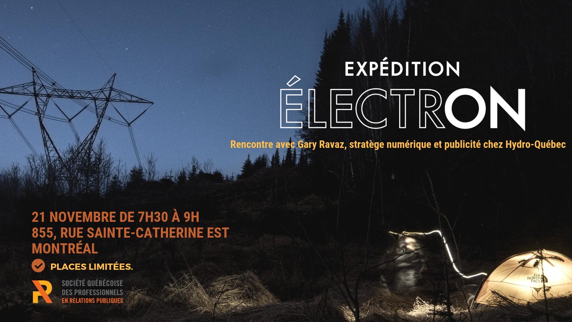 Croissants et Confidences - Expédition ÉlectrON