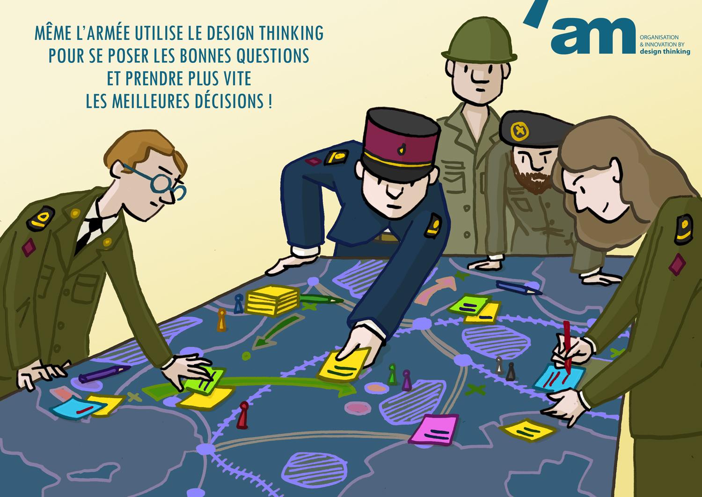 Rencontre inspirante : Design thinking : Bien se questionner, pour mieux répondre aux problématiques complexes