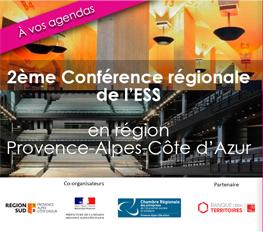 2ème conférence régionale de l'ESS en région SUD Provence Alpes Côte d'Azur