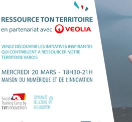 TVT Innovation (83) : l'apéro des Acteurs du changement « ressource ton territoire »