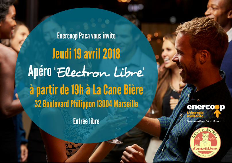 Apéro Electron Libre par Enercoop
