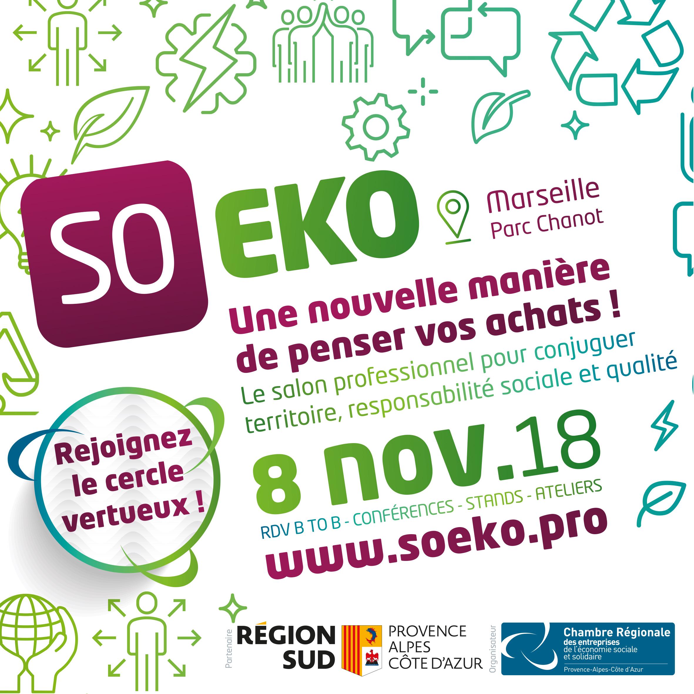 Salon SO EKO - Inscriptions Exposants 2018