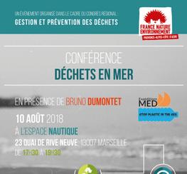 Conférence déchets en mer - FNE PACA