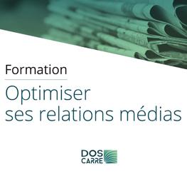 Formation Dos Carré (13) : Optimiser ses relations médias pour des projets engagés