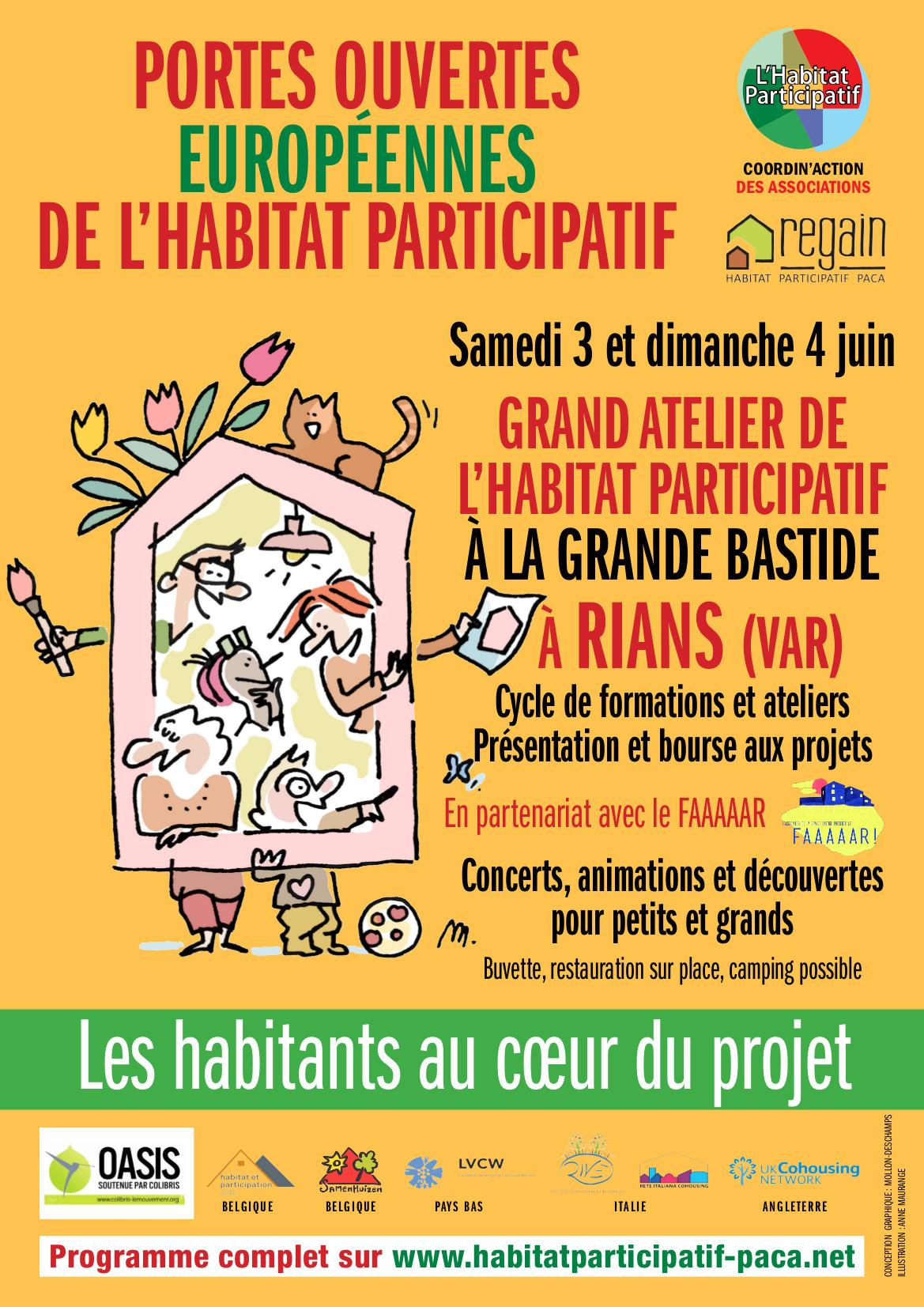 Portes ouvertes européennes de l'habitat participatif