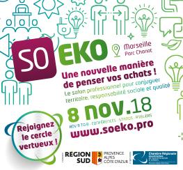 Salon SO EKO - Inscriptions visiteurs 2018