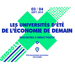 Le collectif Nous Sommes Demain (75) : les Universités d'Été de l'Économie de Demain 2019