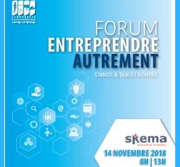 Forum Entreprendre Autrement à Valbonne (06)
