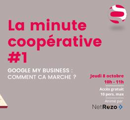 Visioconférence : Google My Business, comment ça marche ? | Les Scop PACA & Corse