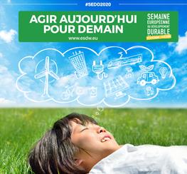 La Semaine Européenne du Développement Durable | SEDD 2020
