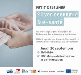 TVT Innovation (83) Petit déjeuner Silver économie & e-santé