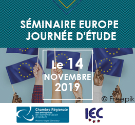 CRESS PACA et IEC (13) : Invitation au Séminaire spécial EUROPE