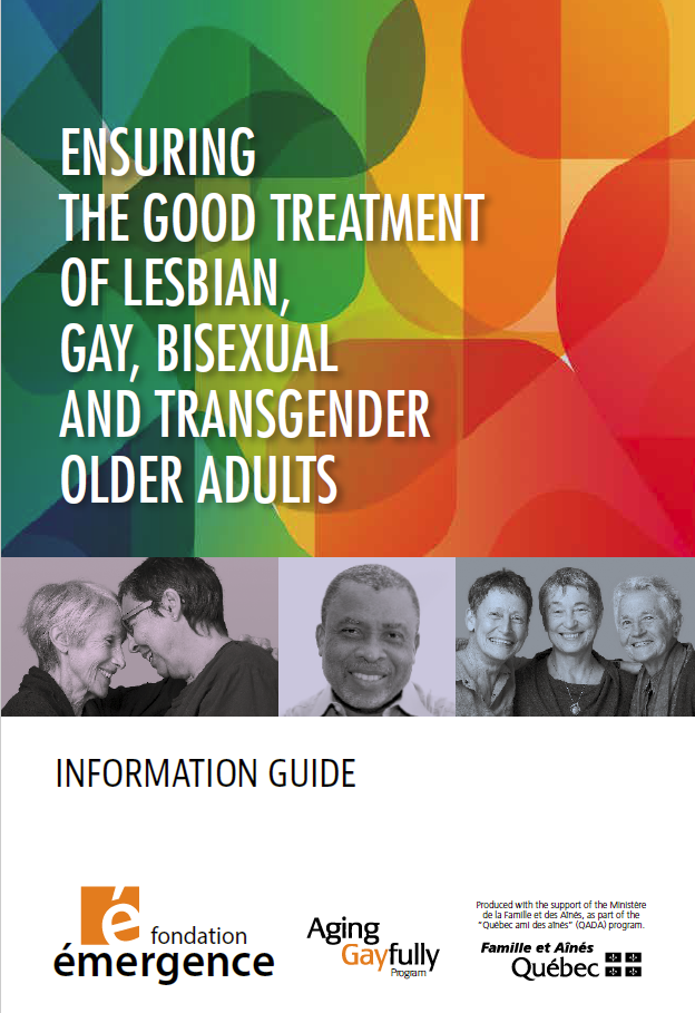 Ensuring the good treatment of lesbian say bisexual and transgender older adults