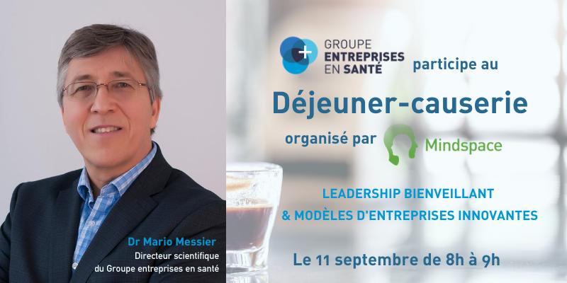 COPY - COPY - COPY - Déjeuner-Causerie: Leadership bienveillant et modèles d'entreprises innovantes