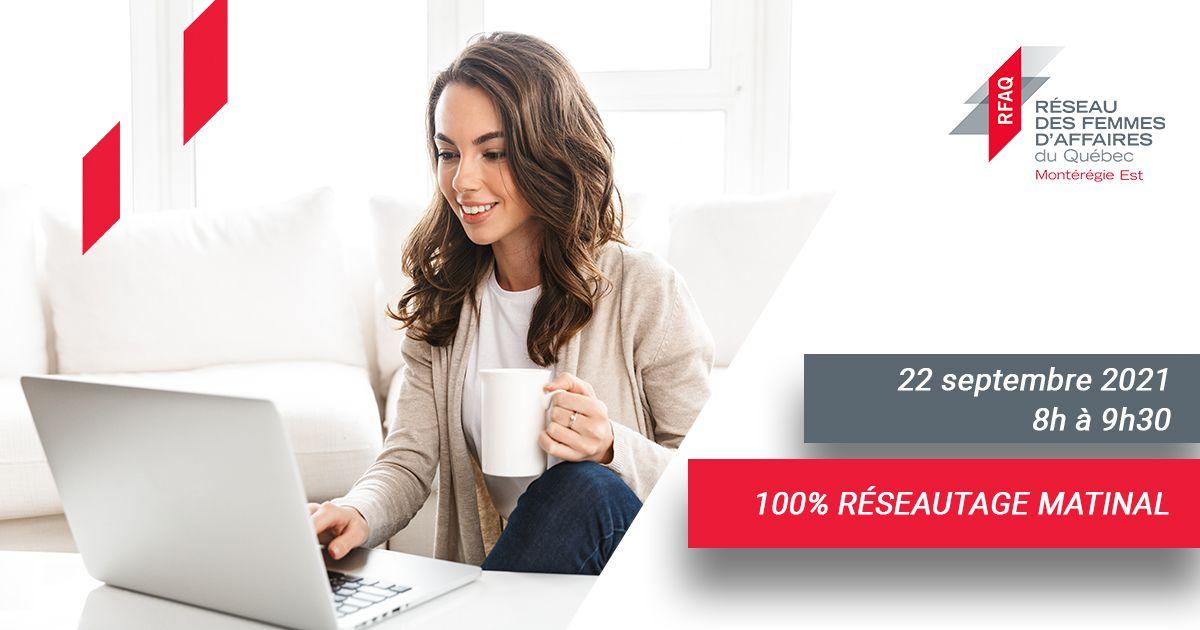 100% réseautage matinal
