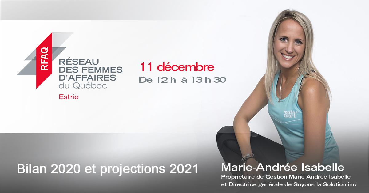 Bilan 2020 et projections 2021: Bien arrimer ses objectifs personnels et professionnels