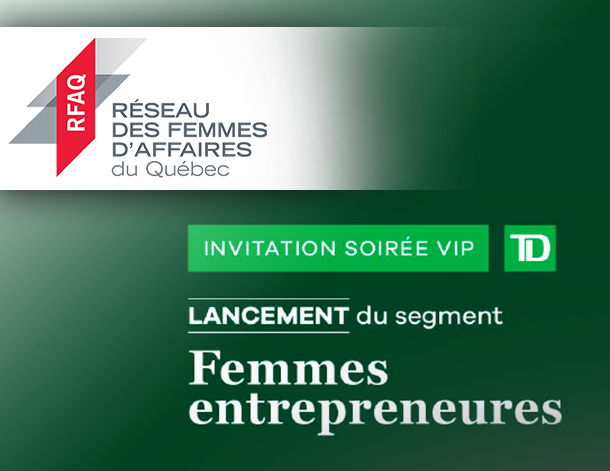 INVITATION GRATUITE TD - Lancement du segment FEMMES ENTREPRENEURES