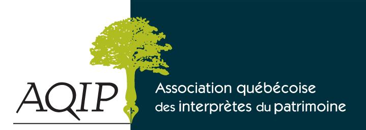Logo Association québécoise des interprètes du patrimoine