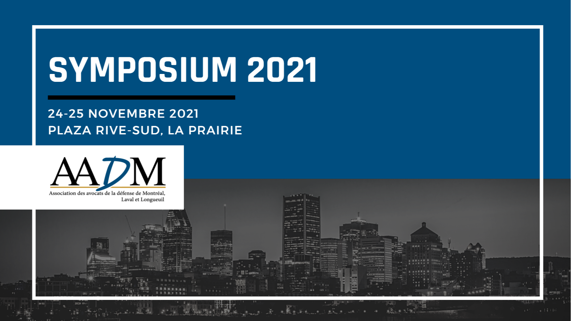 Symposium 2021 : pour le criminaliste averti !