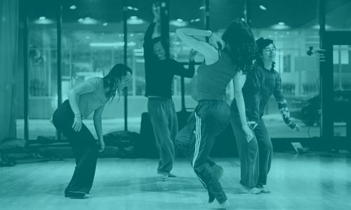 Invisible, l'infini mouvement de la spirale - Stage de danse avec Aurélie Pedron