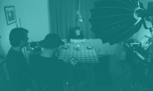 Laboratoire de réalisation et de jeu devant la caméra