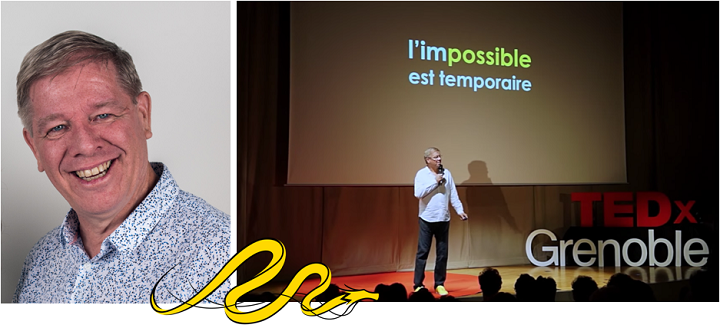 """Déjeuner-Entrepreneur : """"Le pouvoir de l'impossible"""", Mark Raison"""