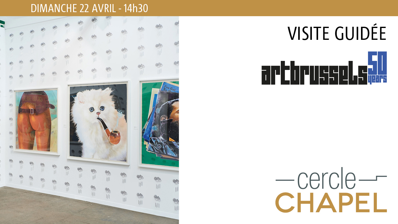Visite guidée Art Brussels