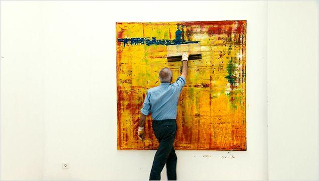 Visite de l'exposition dédiée à Gerhard Richter (S.M.A.K.)