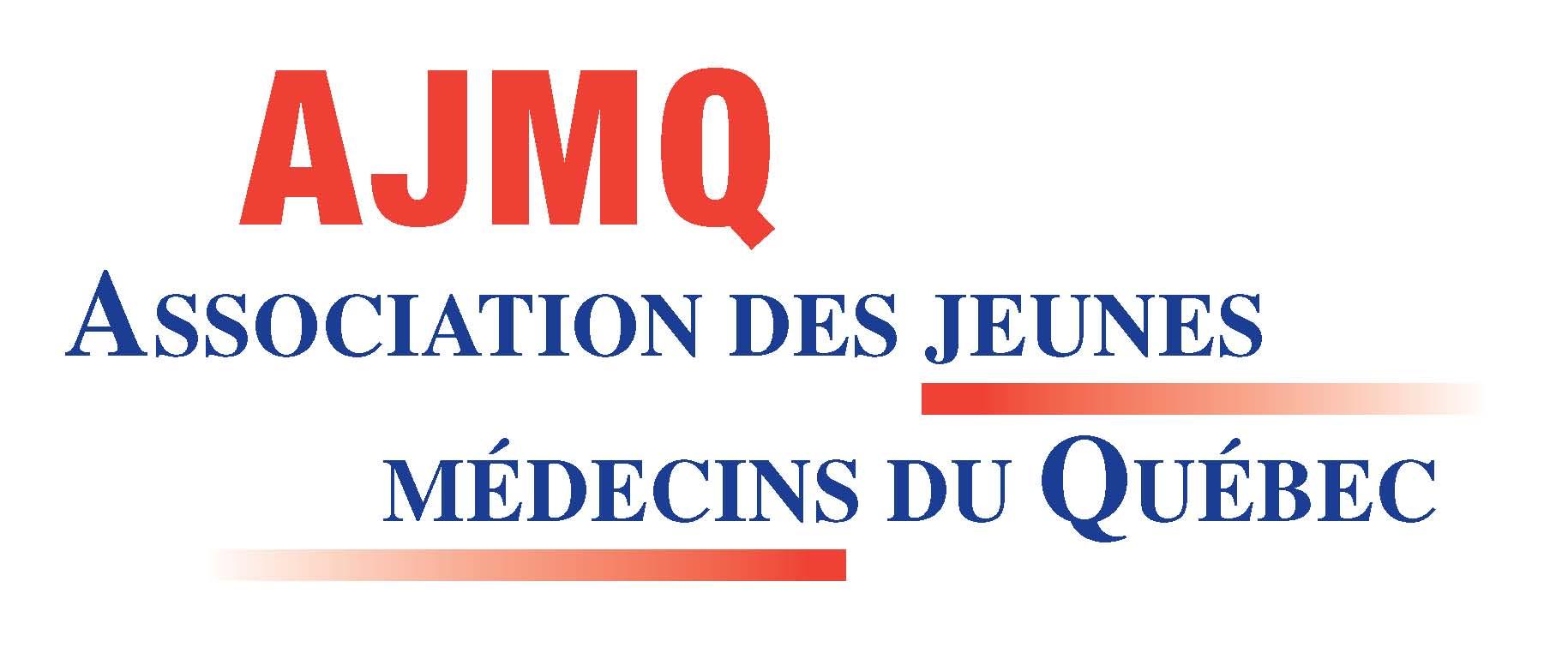 Logo Association des jeunes médecins du Québec (AJMQ)
