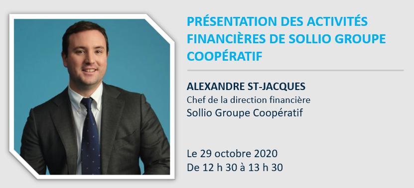 Webinaire : Présentation des activités financières de Sollio Groupe Coopératif