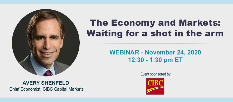 Webinar - Economy & Markets with Avery Shenfeld